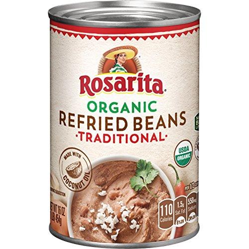 (Rosarita Organic Refried Beans, 16 Ounce)