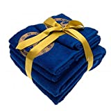 Chelsea FC Official Football Gift 3 Piece Towel Set - A Great Christmas / Birthday Gift Idea For Men And Boys by Official Chelsea FC Gifts