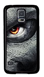 Samsung Galaxy S5 girly cover Cool Eyes Game PC Black Custom Samsung Galaxy S5 Case Cover