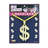 Big Dollar Sign Necklace (One Size-As Shown)