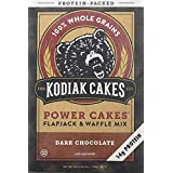 Kodiak Power Cakes, Dark Chocolate Flapjack and Waffle Mix, 18 Ounces