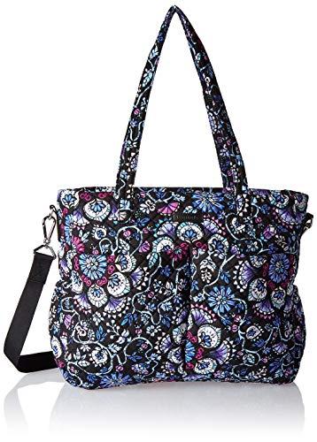 (Vera Bradley womens Iconic Ultimate Baby Bag, Signature Cotton, Bramble, One Size)