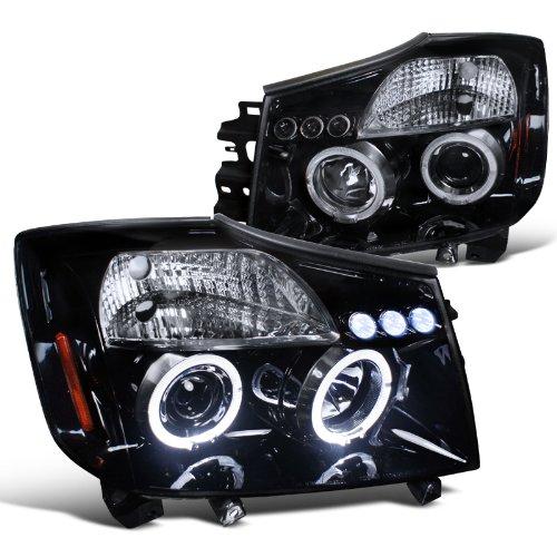 spec-d-tuning-2lhp-tit04g-tm-nissan-titan-se-xe-armada-halo-led-projector-headlights-smoked
