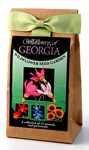 (Georgia Wildflowers - Seed Mix - a beautiful collection of twelve annuals and perennials - enjoy the natural beauty of Georgia flowers in your own home garden)