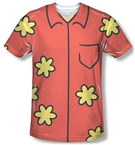 Family Guy Quagmire Costumes Tshirt (Family Guy - Quagmire Costume Tee T-Shirt Size M)