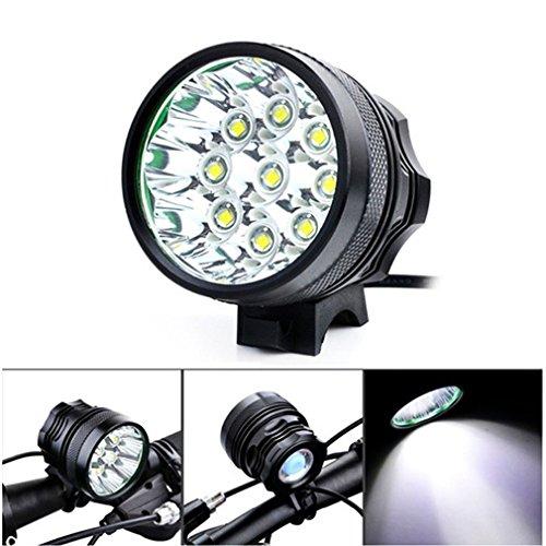 JoyClan New 9000 Lumen 9 x XM-L T6 Bike Bicycle Front Light LED Flashlight 3 Mode Cycling Headlight Head Torch Spotlight by JoyClan
