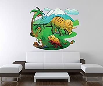 3d Wandtattoo Dino Dinos Kinderzimmer Dinosaurier Wand Aufkleber