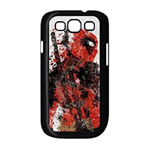 Custom Your Own Personalised Deadpool - Marvel Comics SamSung Galaxy S3 I9300 Best Durable Case Cover