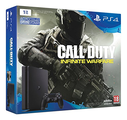 13 opinioni per PlayStation 4 1 Tb D chassis Slim + Call of Duty Infinite Warfare [Bundle]