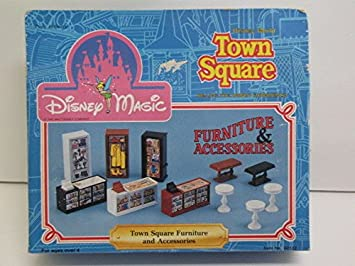 Disney Magic Town Square Furniture U0026 Accessories