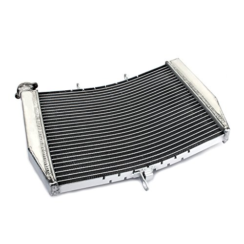 - TARAZON Aluminum Core Engine Radiator Cooler for Kawasaki Ninja ZX6R zx600 2007 2008