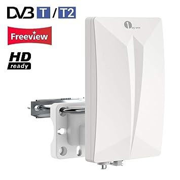 1byone Dvb Tdvb T2 Antenne Zimmerantenne Amazonde Elektronik
