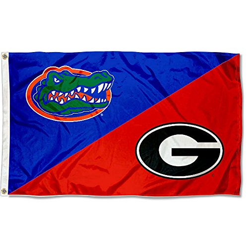 Bulldogs vs Gators House Divided 3x5 ()