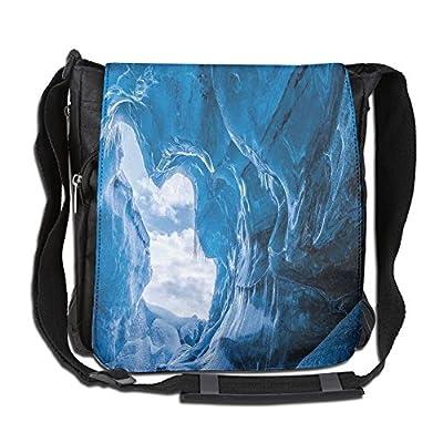 Color : 1, Size : S RXF Messenger Bag for Men Canvas Student Multi-Function Shoulder Bag