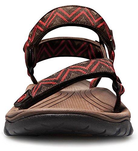 Sandales De Sport Atika Mens Maya Trail Chaussures Deau En Plein Air M110 / M111 (conforme À La Taille) At-m110-rbr