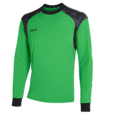 79b7248424f Mitre Children's Guard Goalkeeper Football Match Day Shirt: Amazon.co.uk:  Clothing