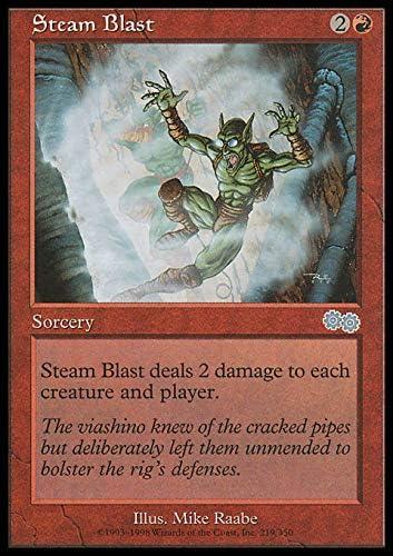 Magic The Gathering - Steam Blast - Urza's Saga