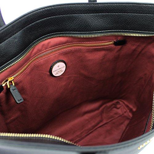 Shopper Clementine Clementine Leather Shopper Soft Noir Soft Leather rrn5YqwgB