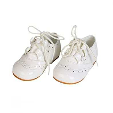 94ff422e1066a Girls Patent Lace up Shoes Bridesmaids Party Formal Shoes Baby Sizes ...