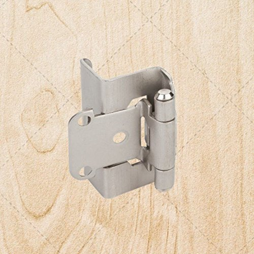 Merveilleux Maximumstore   Full Wrap Self Closing Cabinet Hinge Satin Nickel 1/2u0027u0027  Overlay