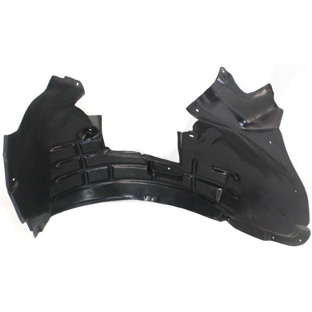 Splash Shield Front Left Side Fender Liner Plastic for Audi Q5 09-12 w//S-Line Pkg