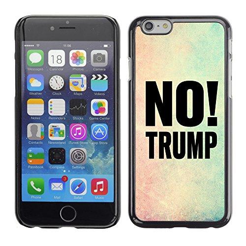 """Print Motif Coque de protection Case Cover // Q04100515 Pas de cadre de couleur Trump // Apple iPhone 6 PLUS 5.5"""""""