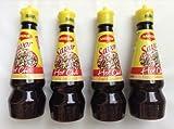Maggi Savor - Hot Chili liquid seasoning - 4-pack, 4 x 130 ml - Product of the Philippines