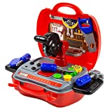 Best Tool Set With Cases - Toysery Dream The Suitcase Portable Pretend Play Traveling Review