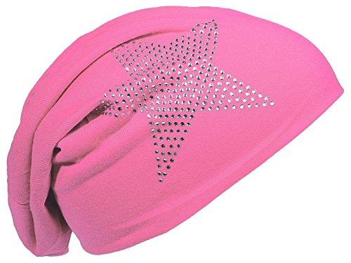 Miobo - Gorro de Punto - para Hombre rosa (b)