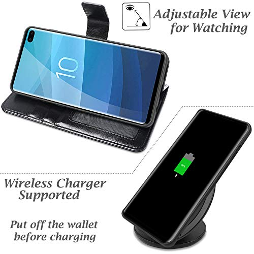 AMOVO Case for Galaxy S10 Plus/S10+ (6 4'') [2 in 1] Samsung