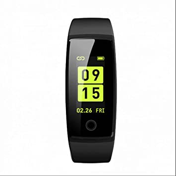 Brazalete de fitness, frecuencia cardíaca, Smart Fitness Reloj de pulsera Pulso Reloj Podómetro Distancia