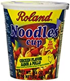 Roland Noodles Cup, Chicken, 2.4 Ounce (Pack of 12)