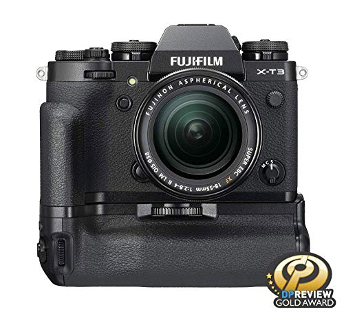 """Fujifilm X-T3 26.1 MP Mirrorless Camera with XF 18-55 mm Lens (APS-C X-Trans CMOS 4 Sensor, X-Processor 4, EVF, 3"""" Tilt Touchscreen, Fast & Accurate AF, Face/Eye AF, 4K/60P Video) - Black 5"""