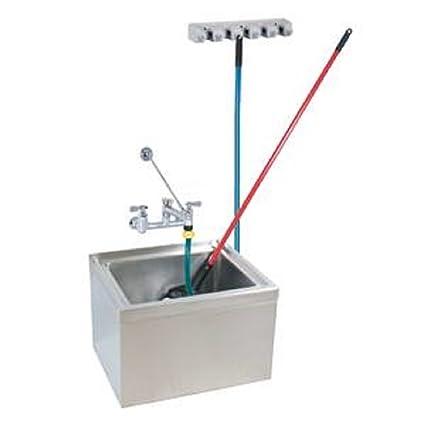 Stainless Steel Mop Sink Kit 12\