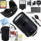 Tamron (AFB028N-700) 18-400mm f/3.5-5.6 Di II VC HLD All-In-One Zoom Lens for Nikon Mount + 64GB Ultimate Filter & Flash Photography Bundle (For Nikon)