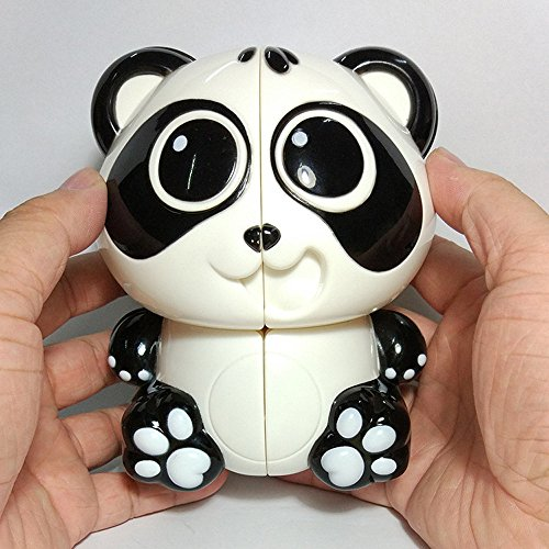 Weite Cute Cartoon Panda Shaped Magic Cube Funny Office Stress Reduction Education Toys for Kids