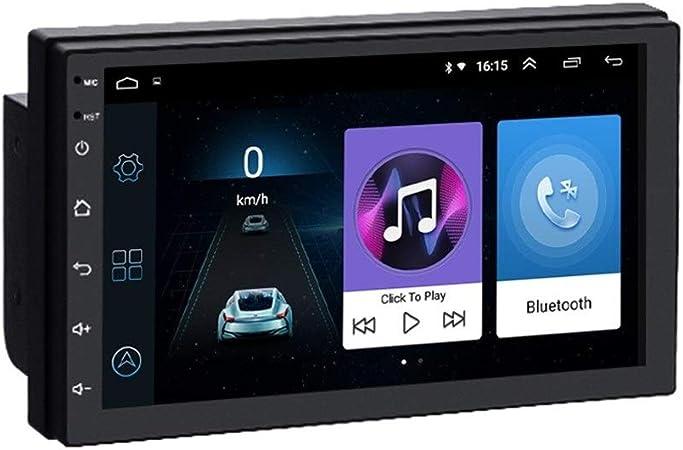 Navegador GPS para Coche Android 8.1 2 DIN Car Radio Multimedia Reproductor de vídeo Auto Universal estéreo Sistema de la Unidad GPS Map Cabeza de navegación: Amazon.es: Hogar