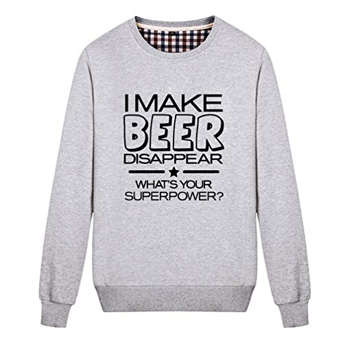 Unisex I Make Beer Disappear What's Your Superpower