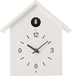 MUJI Cuckoo Clock [White - Large Size]