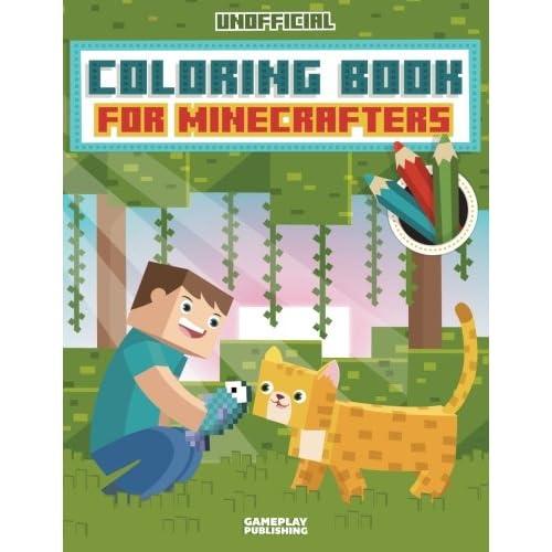 Minecraft Coloring Books Amazon Com