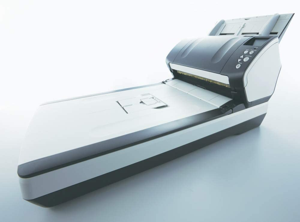 FUJITSU i-7260 Sheetfed/Flatbed Scanner / 24-bit Color - 8-bit Grayscale - USB / PA03670-B555 /: Computers & Accessories