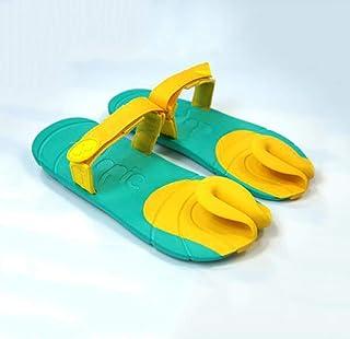 Yingsssq Summer Creative Flip Flops Sandali Fresco e Confortevole Moda Casual Paio Pantofole, F, 37 (Colore : F, Dimensione : 39)