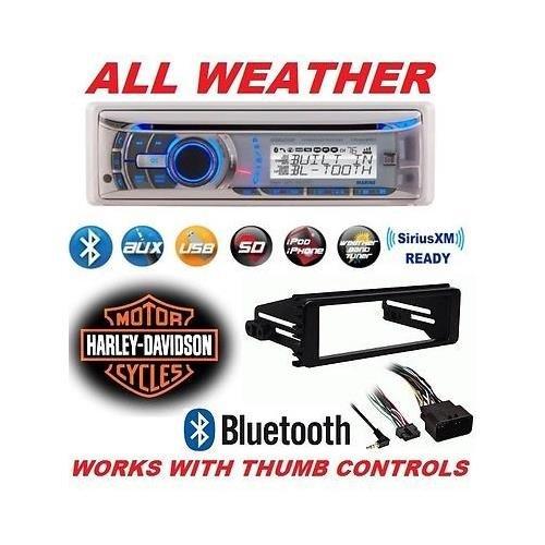 96-2013 Harley Touring Stereo Radio Cd Install Adapter Dash Kit Flht Flhx Flhtc Dual
