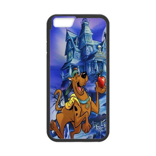 Fayruz- Personalized Protective Hard Textured Rubber Coated Cell Phone Case Cover Compatible with iPhone 6 & iPhone 6S - Scooby Doo Cartoon F-i5G985