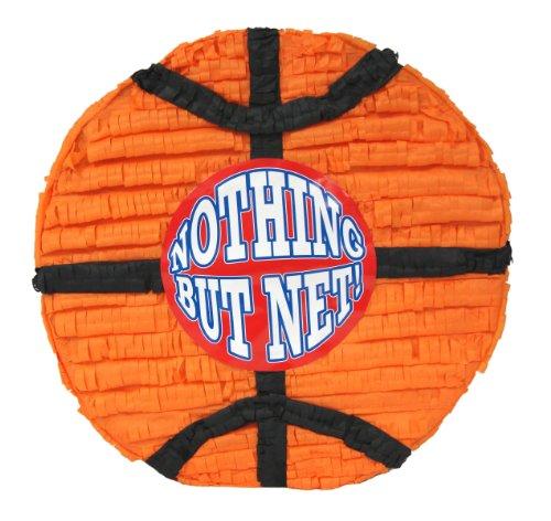 Aztec Imports Basketball Pinata - Nothing But Net Basketball