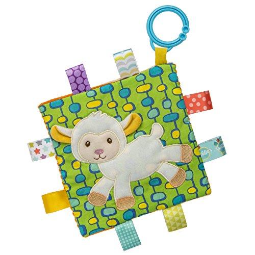 Taggies Crinkle Me Baby Toy, Sherbet Lamb