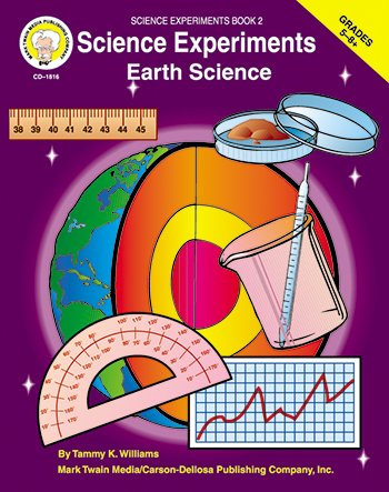 CARSON Dellosa CD-1816 wissenschaftliche Experimente: Earth Science GR. 5-8 +