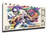 That's My Ticket 1993 Orange Bowl Mega Ticket Wall Decor, Florida State Seminoles