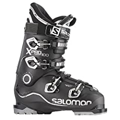 Twinframe technology adapted for instant fit and all-day comfort, Salomon X-Pro's revolutionary 3D liner design eliminates pressure points and provides foothold for performance skiers. Features:+ BI MATERIAL PU LOWER SHELL+ BI-MATERIAL