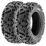 SunF A033 ATV/UTV Tires -- 22x7-12 -- 6 Ply | Pair of 2 | All-Terrain Off-Road